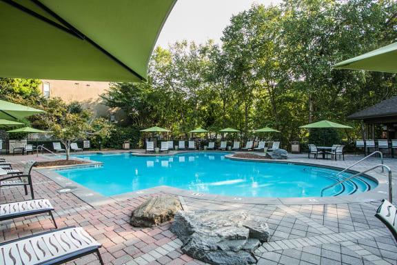 Swimming Pool with Sundeck at Apartments Near Mercer University Atlanta