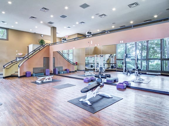 Fitness Center at The Arbors at Breckinridge Apartment Homes 30096