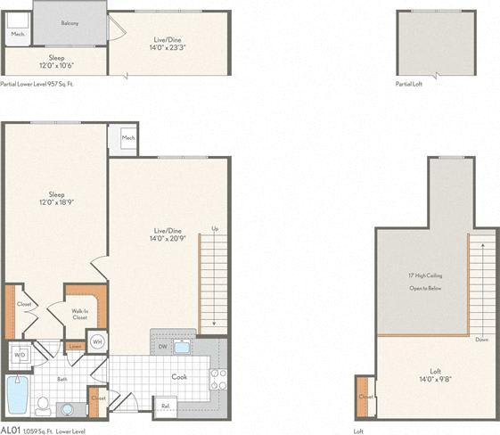 Floor Plan  AL01 Loft