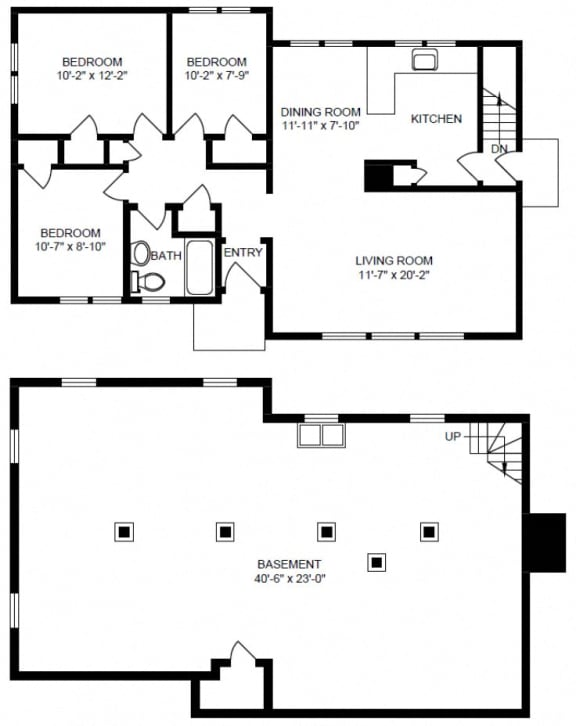 3 bedroom bungalow