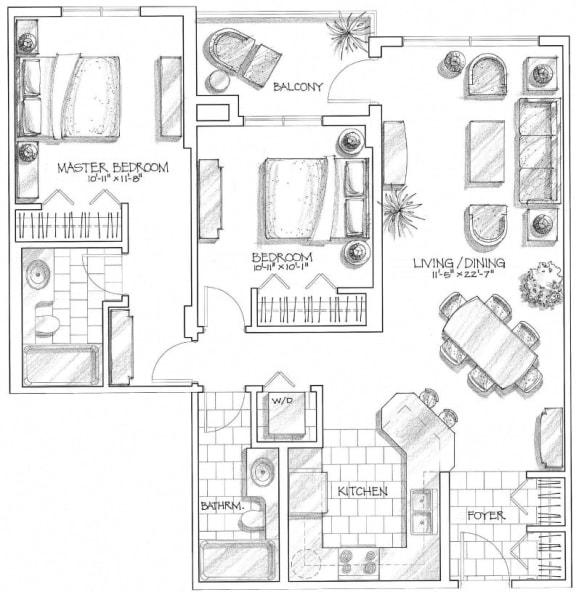 2 bedroom suites in calgary