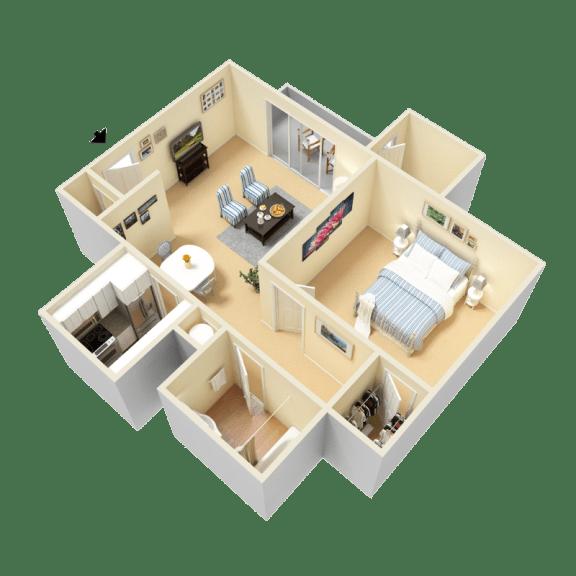 Floor Plan  Lynn Floor Plan at Clarion Crossing Apartments in West Raleigh NC