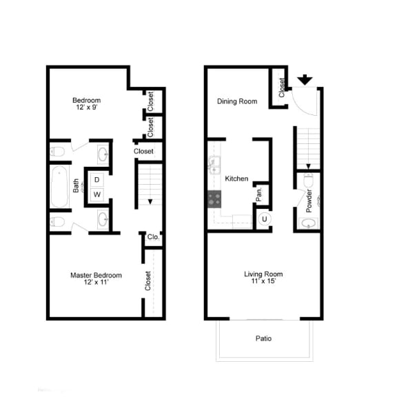 Durant Floor Plan at Clarion Crossing, Raleigh