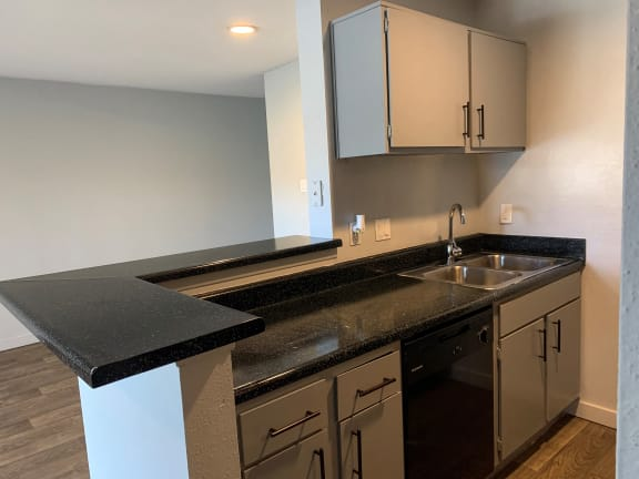 kitchen space in our austin tx apartments