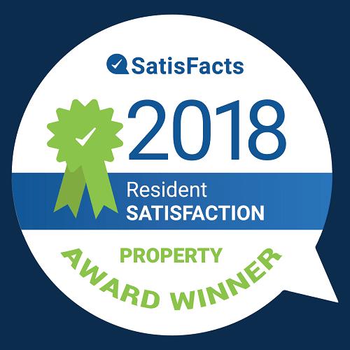 SatisFacts 2018 Award at Monmouth Row Apartments, Kentucky, 41071