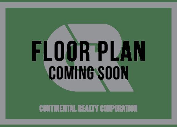 Floor Plan  Two Bedroom Two Bath Floorplan at Brook View Apartments