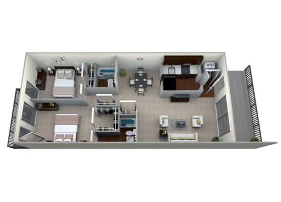 Floor Plan  Floor Plan at Brook View