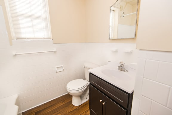 Cross Country Manor Renovated Bathroom, Baltimore, MD