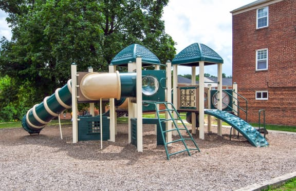Playground at Cross Country Manor Apartments, Baltimore, MD,21215