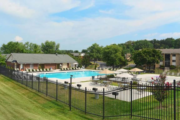 Gated Community at Doncaster Village Apartments, Parkville, MD,21234