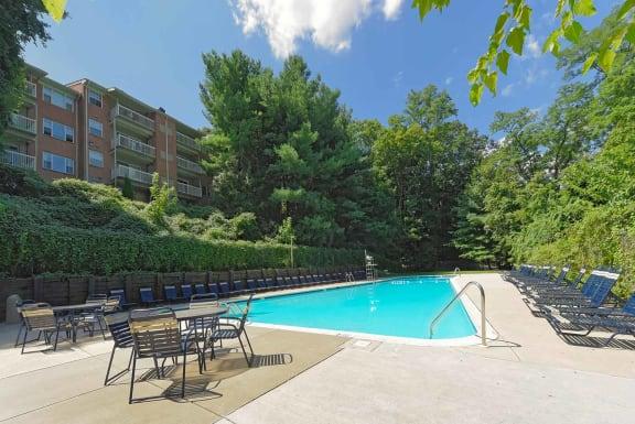 Sparkling Swimming pool, at Kenilworth at Charles Apartments, Towson, MD
