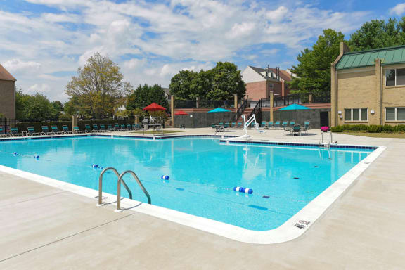 Resort-Style Zero-Entry Poolat McDonogh Township Apartments, Owings Mills, MD
