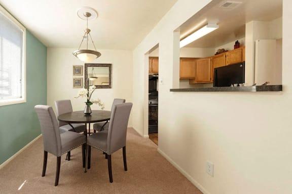 Dining Area at Padonia Village Apartments