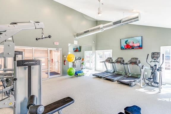 Fitness Center With Updated Equipment at Westwinds Apartments, Annapolis