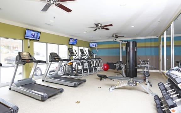 Fitness Center at Centennial Place in Atlanta, Georgia
