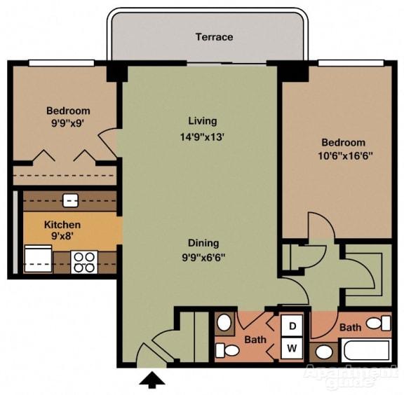 Paramount Apartments, VA