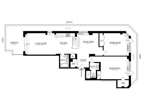 Floor Plan  Penthouse A