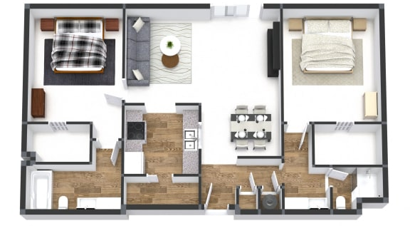Two Bedroom Juliette
