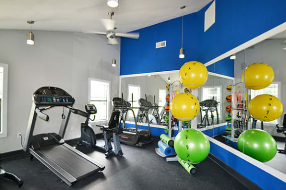 Cardio Machines In Gym at Sterling Bluff Apartments, Georgia, 31406