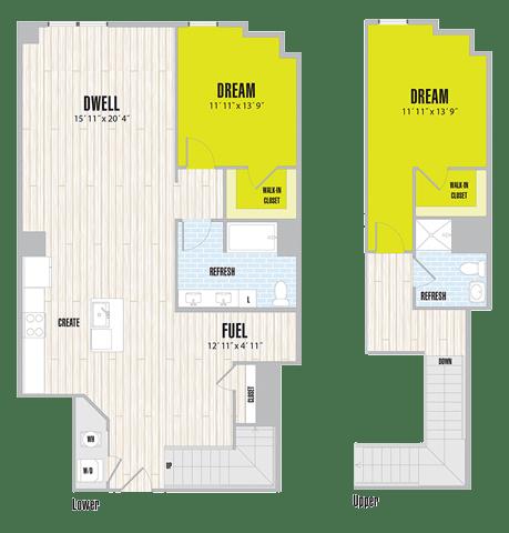 Floor Plan  BL3 Loft
