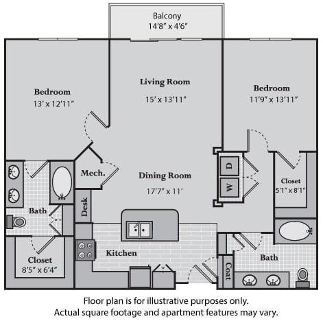 Floor Plan  Delancy at Windsor at Brookhaven, GA