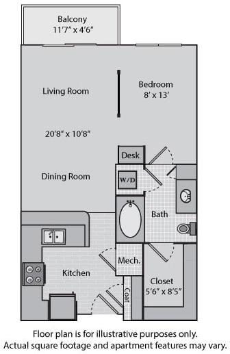 Floor Plan  Lexington at Windsor at Brookhaven, 305 Brookhaven Ave., GA