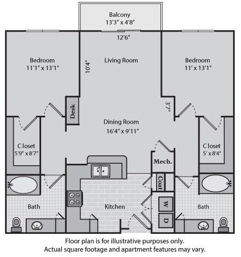 Floor Plan  Madison at Windsor at Brookhaven, 305 Brookhaven Ave., GA