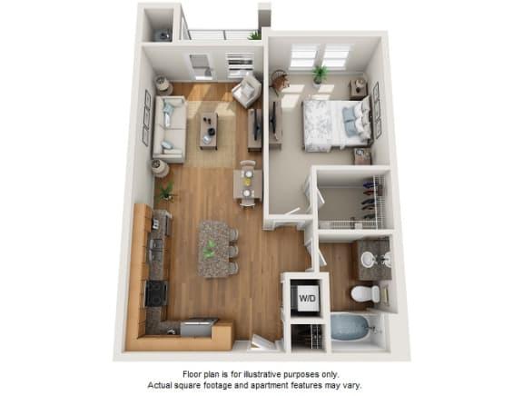 Floor Plan  Ariana floor plan at Element 47 by Windsor, CO, 80211