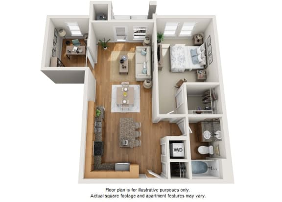 Floor Plan  Hopea floor plan at Element 47 by Windsor, Colorado, 80211