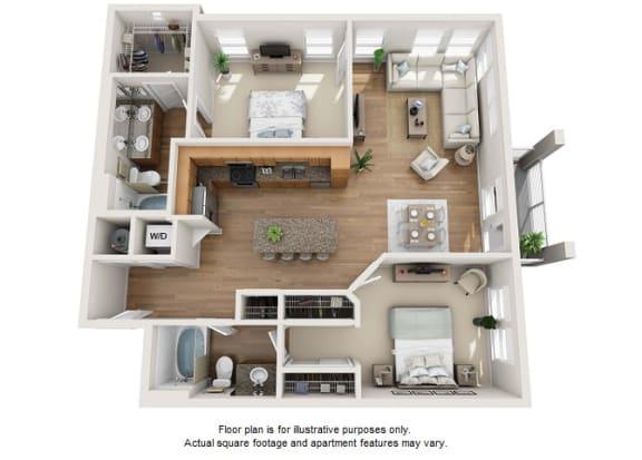 Floor Plan  Oro floor plan at Element 47 by Windsor, Colorado, 80211