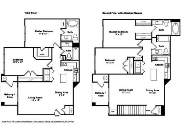 Graycliff Floorplan at Windsor at Meridian