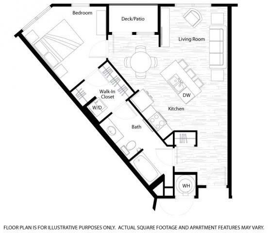 Floor Plan  Clarkson Floorplan at Windsor at Broadway Station
