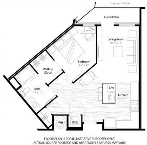 Floor Plan  Emerson Floorplan at Windsor at Broadway Station