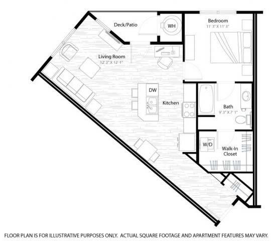 Floor Plan  Grant Floorplan at Windsor at Broadway Station