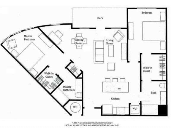 Floor Plan  University Floorplan at Windsor at Broadway Station