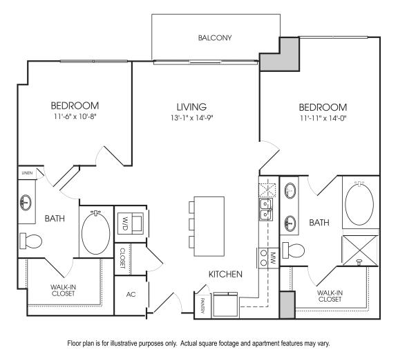 Floor Plan  Floorplan at The Sovereign at Regent Square