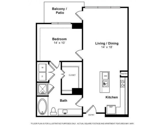 Floorplanat Windsor Memorial, 3131 Memorial Court,  Houston, 77007