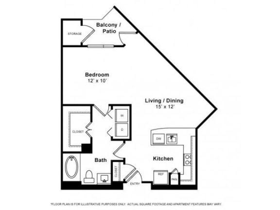 Floor Plan  Floorplan at Windsor Memorial, 3131 Memorial Court,  Houston, TX 77007