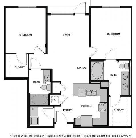 Floor Plan  Floorplan At South Park by Windsor, Los Angeles, CA, 90015