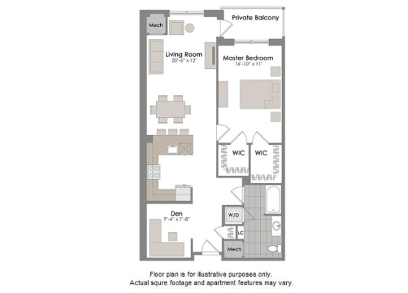 Floor Plan  A5 Floorplan at Twenty50 by Windsor