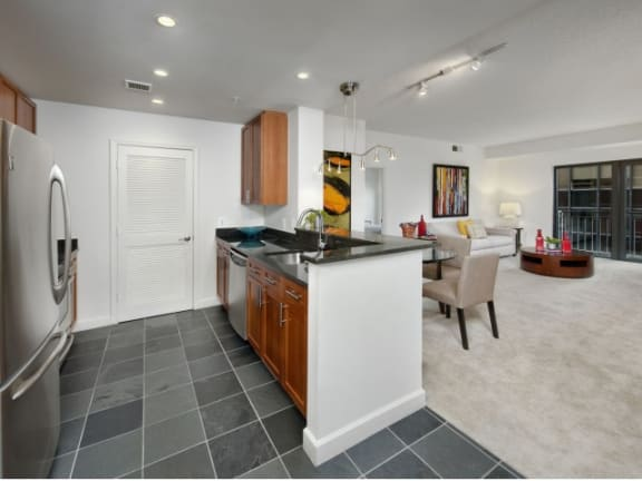 Slate or Mable Flooring Options at Halstead Tower by Windsor, 4380 King Street, 22302