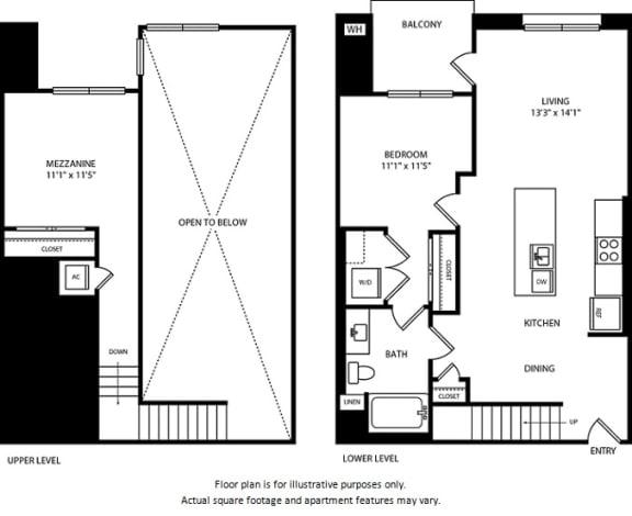 Floor Plan  Floorplan at Boardwalk by Windsor, Huntington Beach, 92647