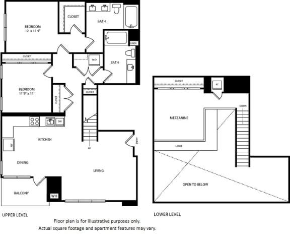 Floor Plan  Floorplan at Boardwalk by Windsor, Huntington Beach, California