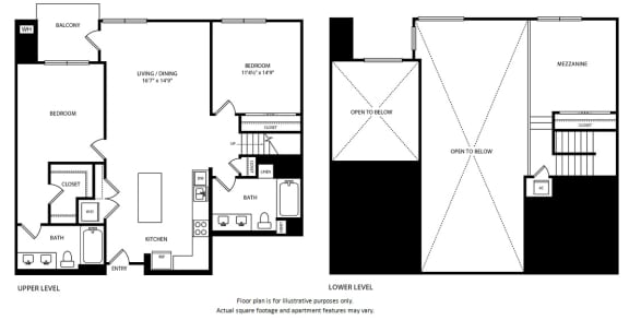 Floor Plan  Floorplan at Boardwalk by Windsor, Huntington Beach, CA