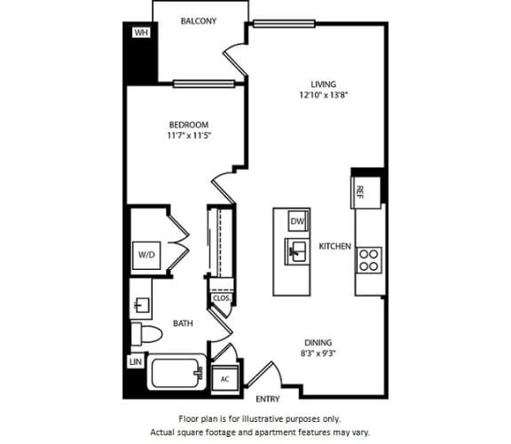 Floor Plan  Floorplan at Boardwalk by Windsor, California, 92647