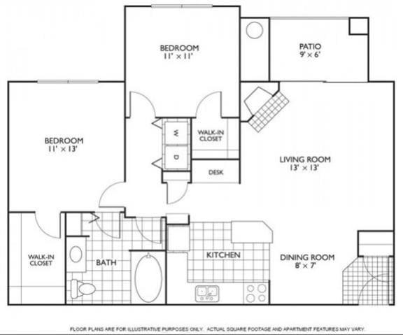 Floor Plan  Bennington Floorplan at Reflections by Windsor
