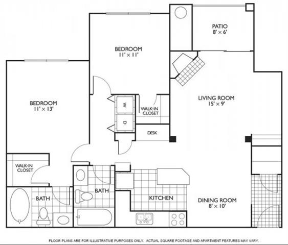 Floor Plan  Chamberlain Floorplan at Reflections by Windsor