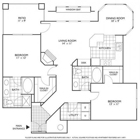 Floor Plan  Chelan Floorplan at Reflections by Windsor
