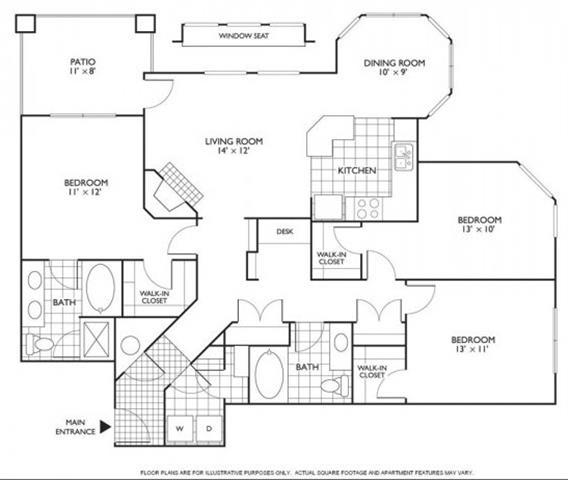 Floor Plan  Devereaux Floorplan at Reflections by Windsor
