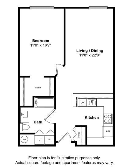 Floor Plan  Galveston Floor Plan at Tera Apartments